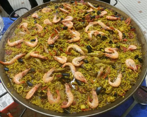 paella traiteur ferme de Berdin Banos