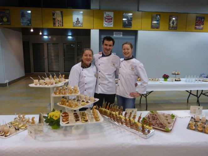réception buffet