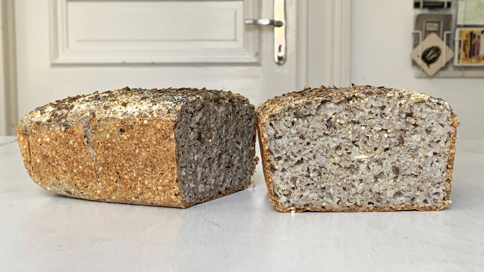 Glutenfreies Sauerteig-Buchweizenbrot