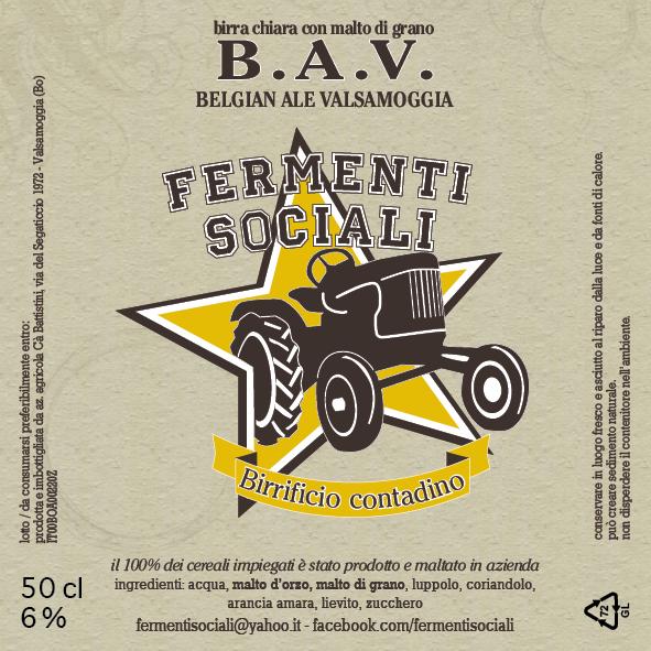 B.A.V. Belgian Ale Valsamoggia