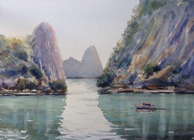 Acuarela Vietnam