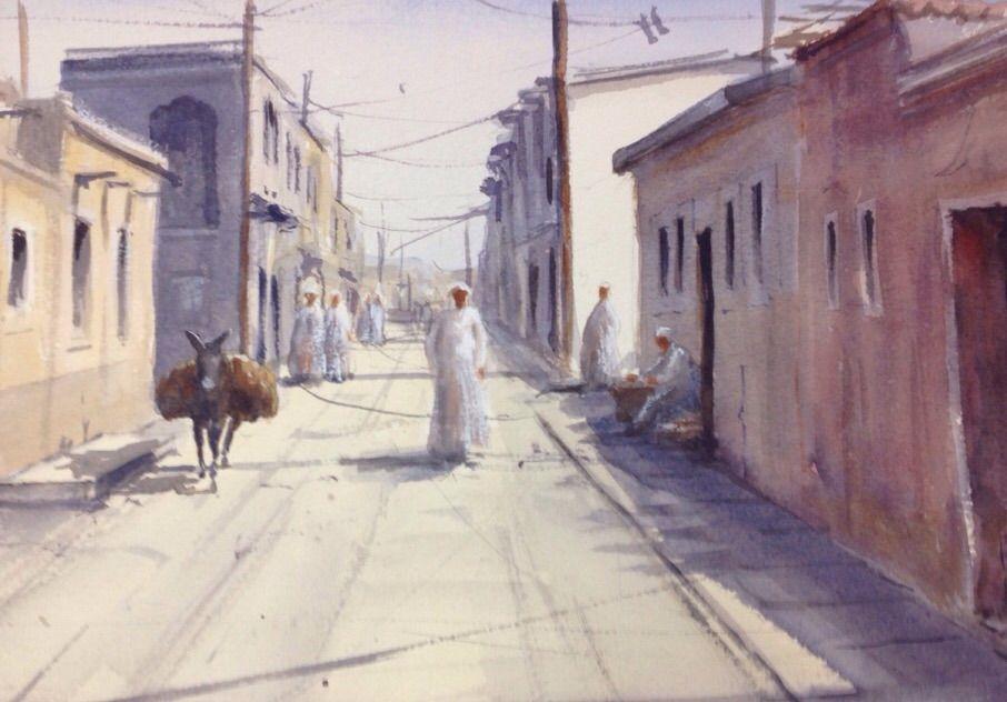 Acuarela Senegal