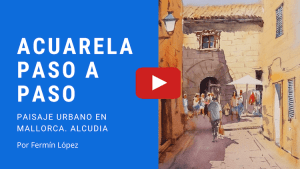acuarela acudía video