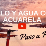 Cómo Pintar Cielos y Agua con Acuarelas Video