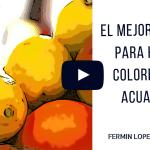 Cómo Conseguir Colores Con Acuarelas. Video
