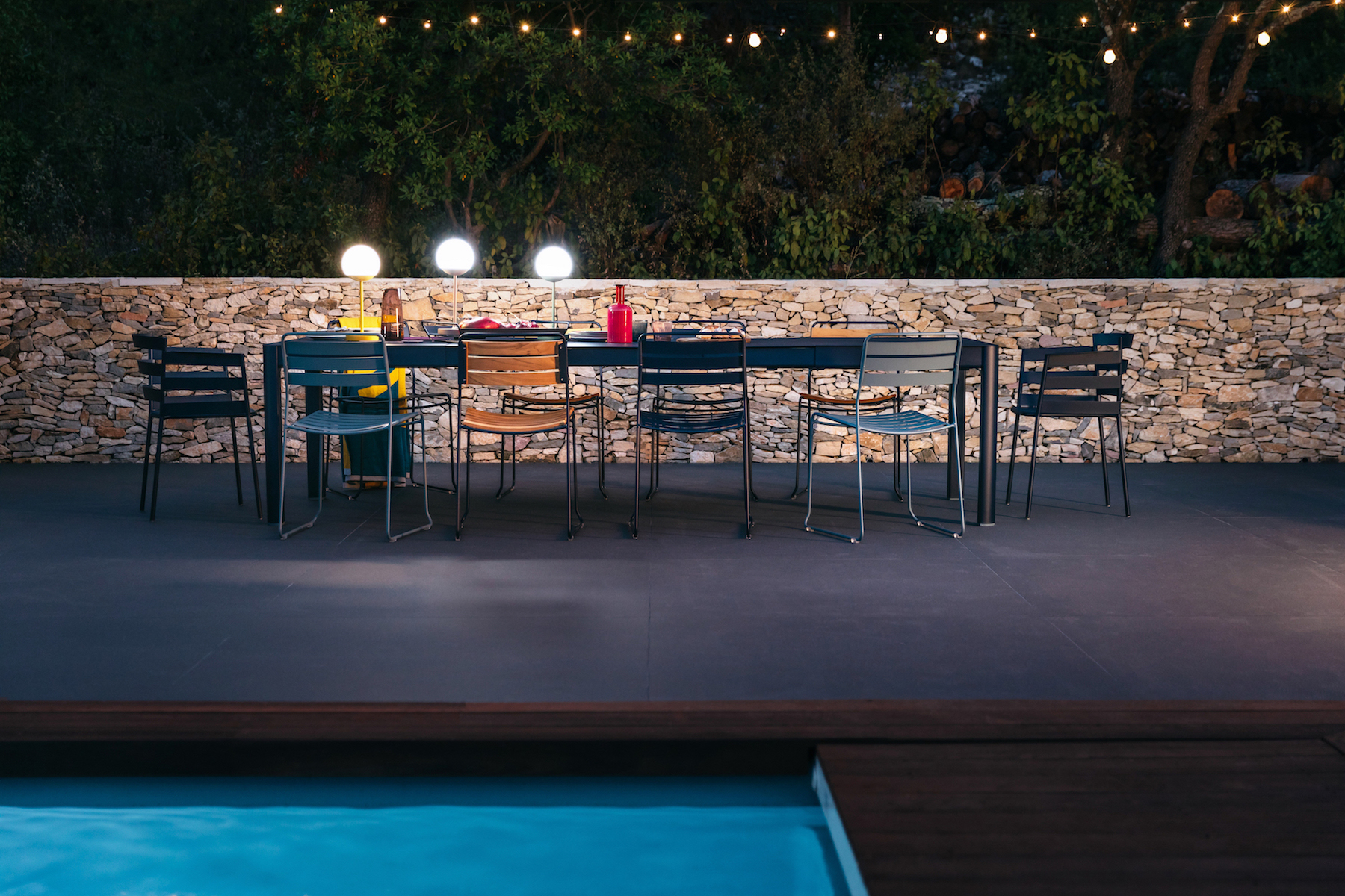 Fermob Features New Outdoor Furniture And Lighting At The ICFF From May 20  U2013 23, 2018 In New York, NY