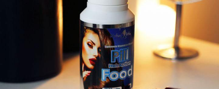 PILL FOOD HAIRACTION #TURBINADO!