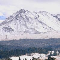 Profundo sueño del Nevado de Toluca