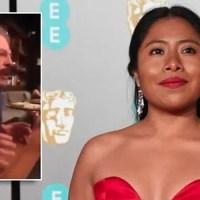 """SE FILTRA VIDEO donde Sergio Goyri discrimina y llama """"india"""" a Yalitza Aparicio"""