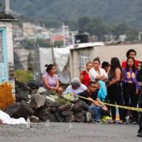 Captan momento en que ejecutan a pareja con bebé en Tlalpan (VIDEO)