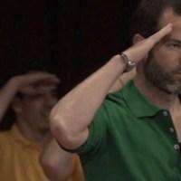Difunden videos de Emiliano Salinas bailando en cumpleaños de líder de secta sexual
