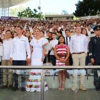 Yalitza Aparicio fue invitada especial de la Guelaguetza