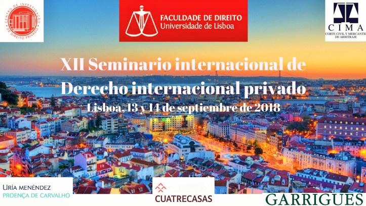 XII Seminario internacional de Derecho internacional privado (7)