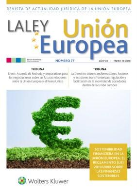 portada La ley UE nº 77