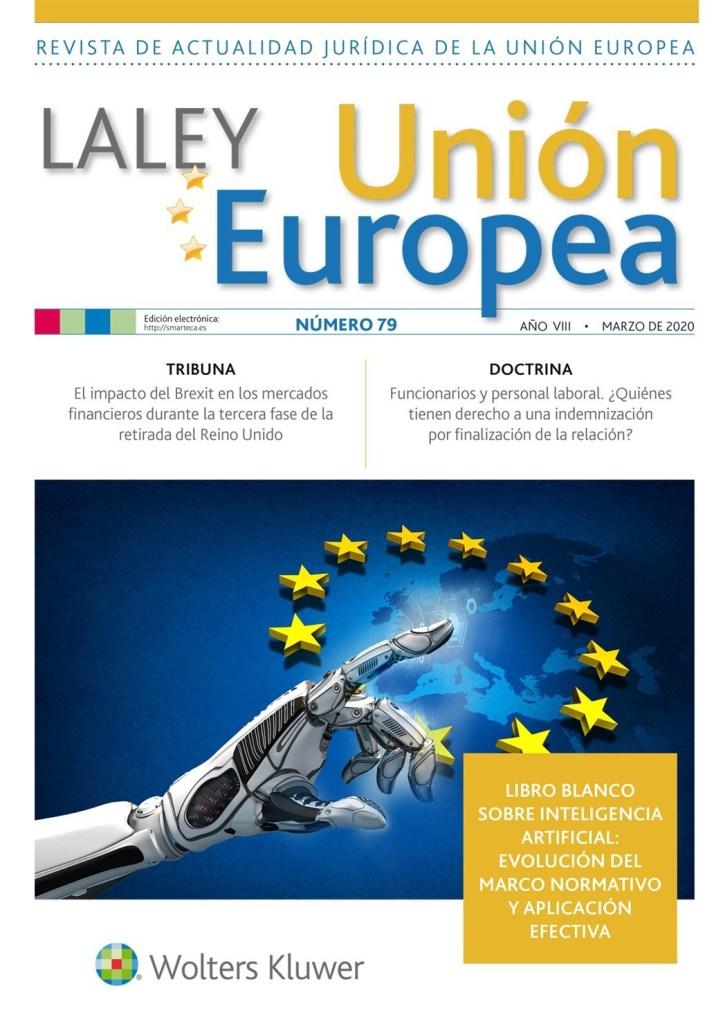 la ley UE nº 79 marzo 2020