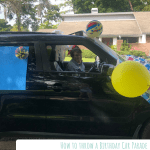 How To Throw A Birthday Car Parade Fern And Maple