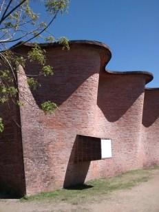 Iglesia de Atlántida - Vista lateral
