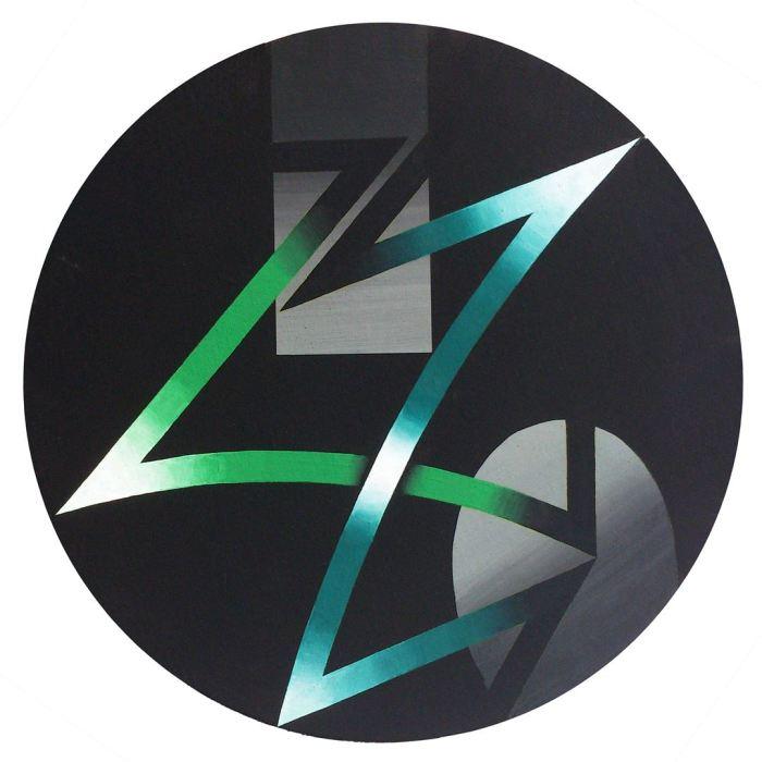 ESPECTRO 3, 2014, acrilico, lienzo, 50 cms. diametro.