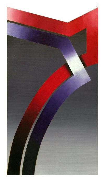 SERIE DANTE - PURGATIRIO 2014, acrilico, lienzo, 30 x 50 cms.