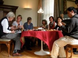 F. Brüggen, J. Saunders, J. van Wingerden, T. de Clerck, Monika Musch, Y. Yaita & F. Saito (fp 2010)