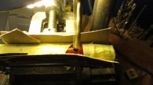 taladro con broca de 10mm