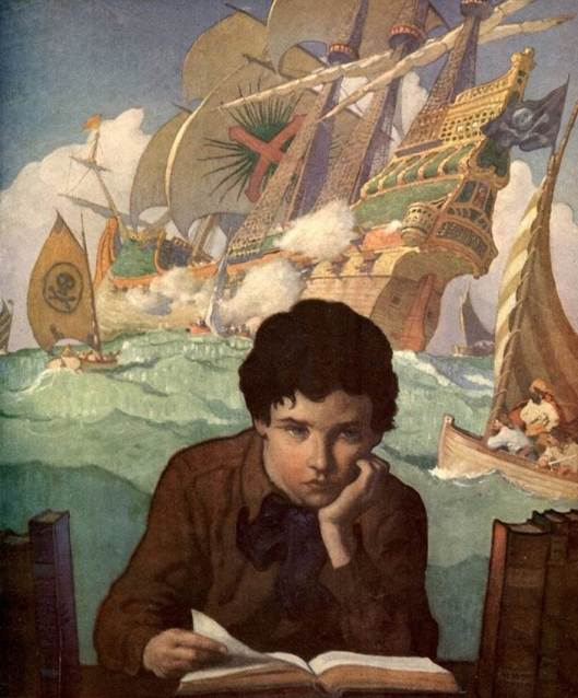 Pintura de Newell Convers Wyeth