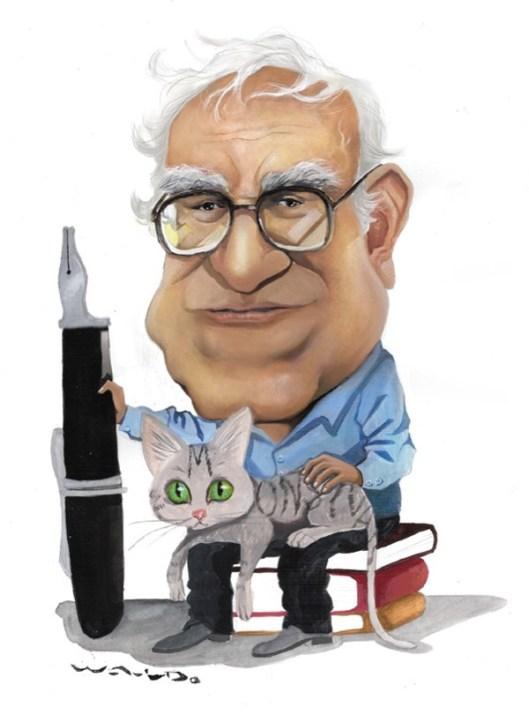 Caricatura de Waldo Arturo Matus