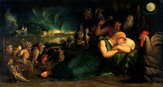 Battista Dossi Alegoría de la noche