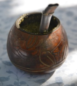 Mate-Tee in Südamerika