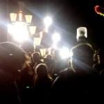 Plötzlich am Meer Festival in Polen: Der Uwaga-Floor bei Nacht
