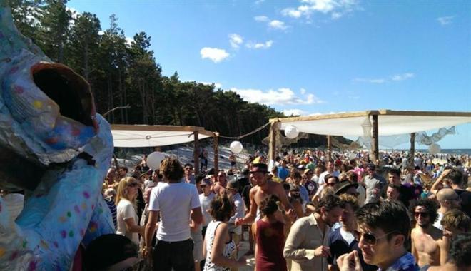 Plötzlich am Meer Festival in Polen: Tanzen am Meer