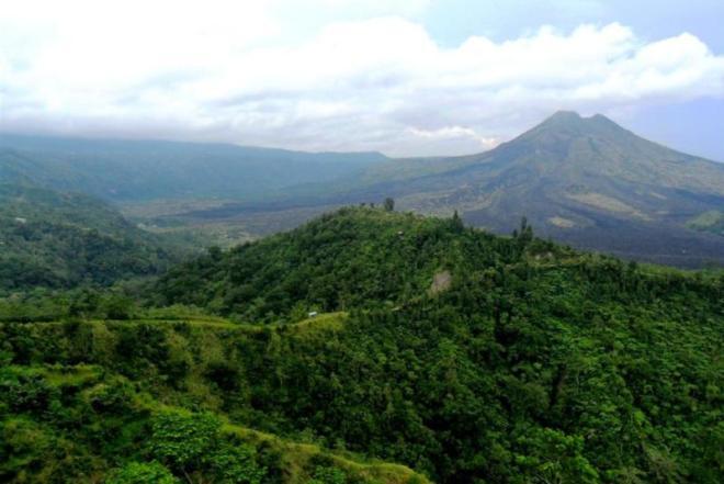 Ausflug ins Zentrum Balis mit Bergen und Dschungel