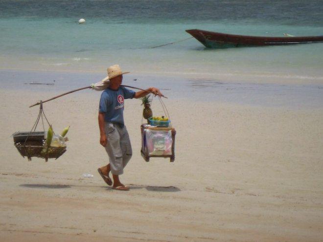 Schnorcheln und am Strand fletzen auf Koh Tao