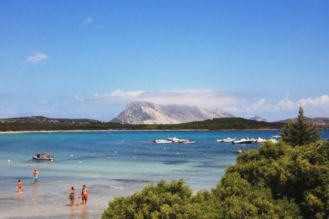 Schönster Strand an der Ostküste Sardiniens bei San Teodoro