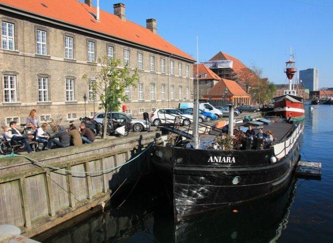 Tipp für Kopenhagen: Frederiksholmes-Kanal