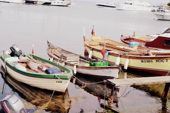 Der Hafen auf den Prinzeninseln in Istanbul