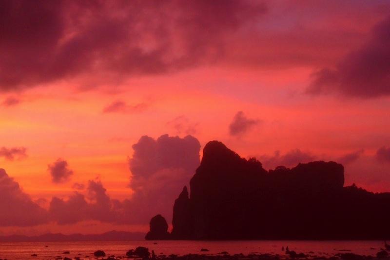 Sonnenuntergang auf Ko Phi Phi