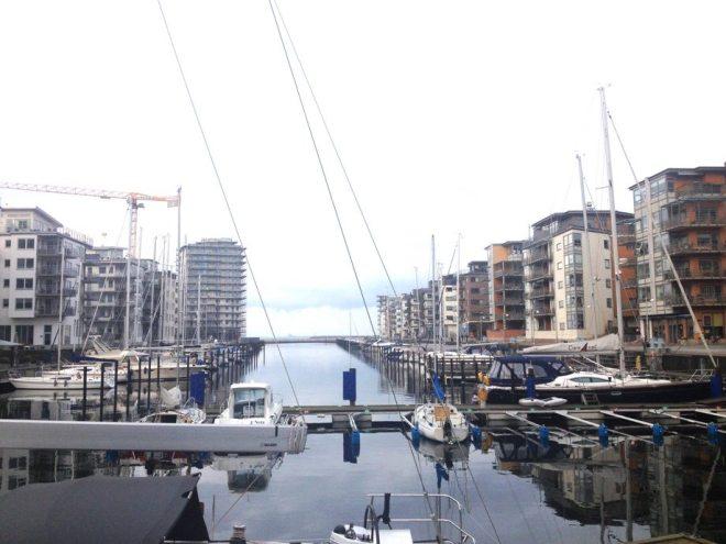 Malmö hat viele schöne Ecken und vor allem viel Wasser