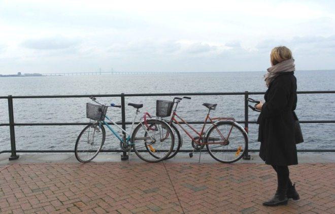Fahrrad fahren gehört zum Urlaub in Malmö (Schweden) dazu
