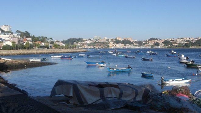 Ruhe und Idylle am Douro im Viertel Foz