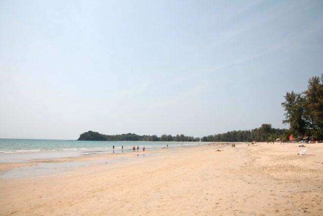 Der Strand Klong Dao auf Koh Lanta, Thailand