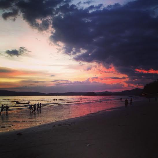 So schön: Sonnenuntergänge in Thailand (besonders in Ao Nang und Koh Lanta)