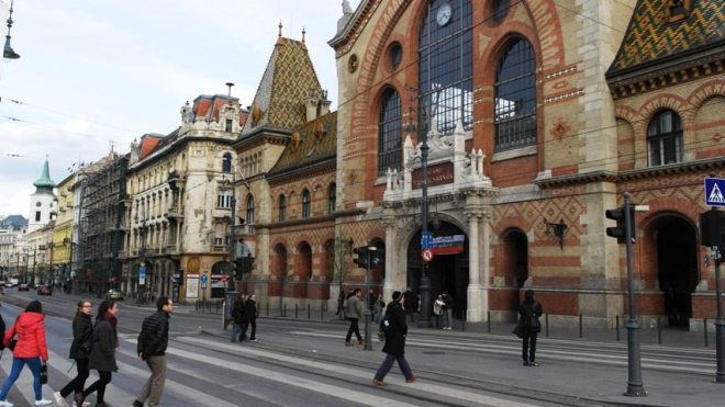 Die große Markthalle - ein toller Tipp für 3 Tage in Budapest