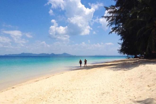Koh Kradan - Highlight auf der 4 Islands Schnorcheltour