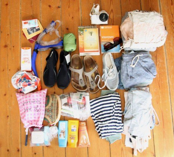 Backpack-Packliste für Fernreisen wie Thailand oder Sansibar
