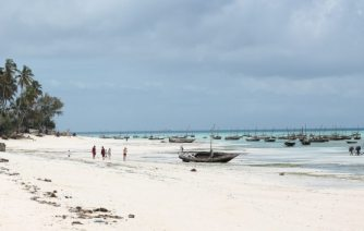 Backpacking Sansibar: Strand in Nungwi