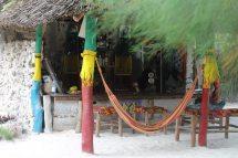 Strandbar Kae Zanland in Michamvi Kae auf Sansibar - Backpacking-Tipp
