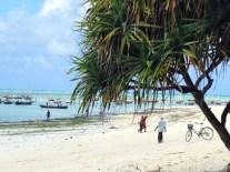 Einer der schönsten Strände Sansibars: Nungwi Ostseite
