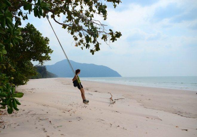 Ao Son - Einsamer Strand auf Koh Tarutao