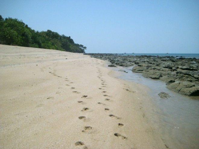 Das war der einsamste Strand Koh Lantas: Klong Hin direkt hinter der Nui Bay